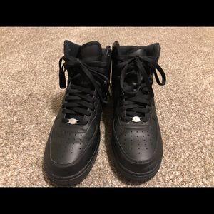 Air Force Ones Men's Black